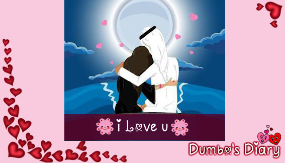 I love you with images