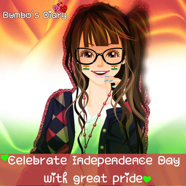 Facebook dp for girls independence day