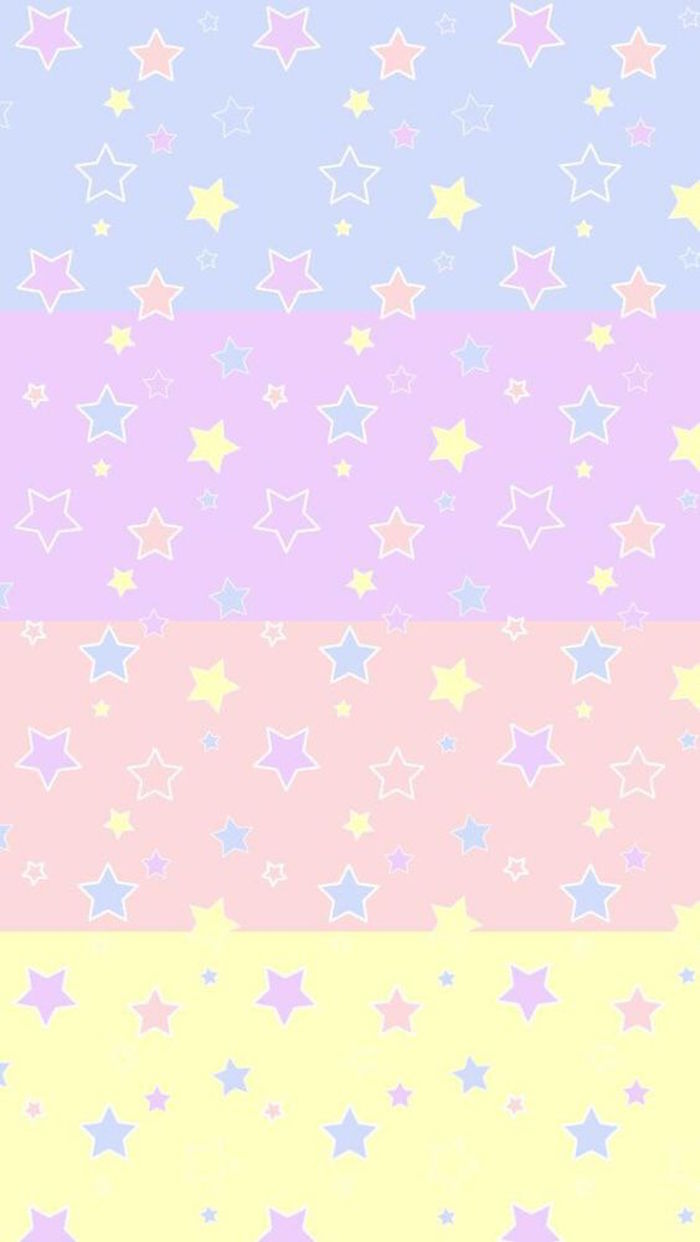 stars multi color whatsapp wallpaper